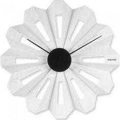Horloge Karlsson blanche Flower, Atylia