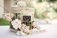Bird Cage centerpieces! LOVE!!