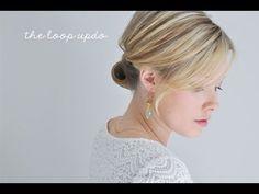 the loop updo hair tutorial