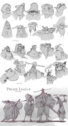 Buncha Pirates! by ~travelingpantscg on deviantART