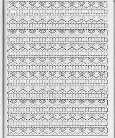 Watch This Video Beauteous Finished Make Crochet Look Like Knitting (the Waistcoat Stitch) Ideas. Amazing Make Crochet Look Like Knitting (the Waistcoat Stitch) Ideas. Crochet Stitches Chart, Crochet Motifs, Crochet Borders, Crochet Diagram, Afghan Crochet Patterns, Crochet Lace, Stitch Patterns, Tutorial Crochet, Gilet Crochet