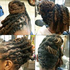 Maintenance n molded twist n pipe curls