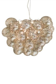 www.ellos.se by-rydens taklampa-gross 1063749-02 Chandelier, Ceiling Lights, Lighting, Glass, Jewelry, Decor, Furniture, Candelabra, Jewlery