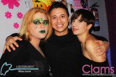 Las chicas de oro en Clams Disco