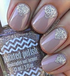 18 Chic Nail Designs for Short Nails                                                                                                                                                                                 More