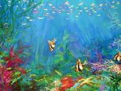 Under the Sea by KellyDelRosso on DeviantArt Sea Photography, Underwater Photography, Sea Life Art, Life Under The Sea, Life Drawing, Ocean Waves, Dolphins, Mother Nature, Deviantart