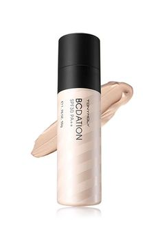 Currently, the number-one foundation in Korea is TonyMoly's BCDation All Master, which claims to combine the weightlessness of a BB cream, the moisturizing properties of a CC cream, and the coverage of a foundation. In its first month on the market, it sold over 200,000 bottles. Amazingly, it's not all hype: BCDation provides light-weight coverage with a natural, matte finish.