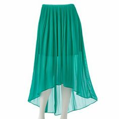 LC Lauren Conrad Hi-Low Chiffon Skirt  for my Ariel costume! :) (note to self: order a size medium!)