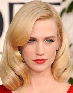 Old Hollywood Inspired Hairstyle