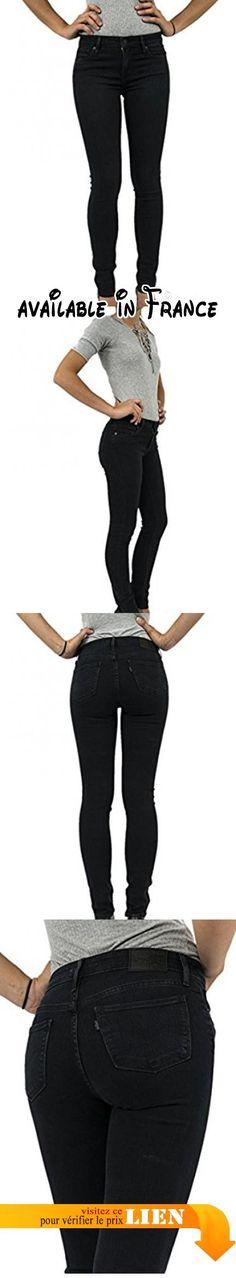 B0759VX6SZ : 30/34 jeans levis 712 slim noir.