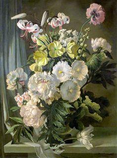 Gerald A. Cooper (1899-1975) — Flower Piece  (841×1137)
