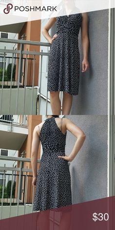 Evan Picone polka dot dress Evan Picone polka dot dress, mint condition. 95% polyester 5% spandex. Evan Picone Dresses