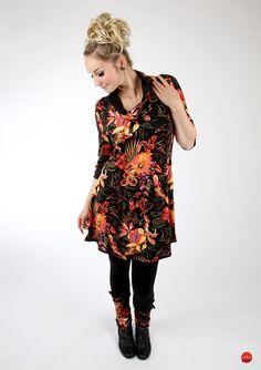 """Kleider - MEKO Set Kleid/Leggings """"BO_5"""" - ein Designerstück von meko bei DaWanda"""