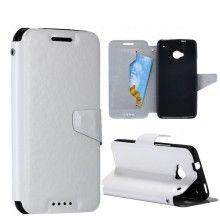 Custodia HTC One - Flip Pelle Bianco  € 12,99