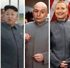 Who-Wore-It-Better-Hillary-Clinton funny pictures with captions pictures Kim Kardashian Funny Memes funny Donald Trump Dank Funny Shit, The Funny, Funny Jokes, Funny Stuff, Funny Things, Random Stuff, Evil People, Stupid People, Historical Quotes
