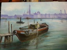 Venice - my first oil painting 2015