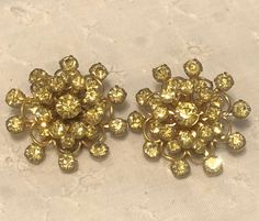31 Best Vintage Rhinestone Earrings