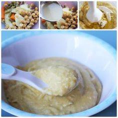 Share Tweet Pin Mail Hoy os proponemos preparar un puré de garbanzos para bebés. El cocido es un plato muy habitual en las casas ...