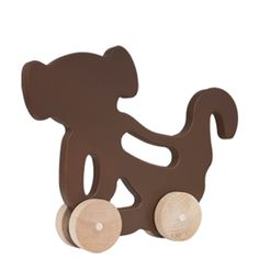 manny and simon Monkey Push Toy / made in the isa / $32