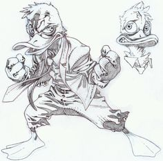 Howard the Duck by timothygreenII.deviantart.com on @deviantART