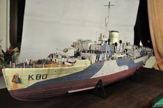 HMS Bluebell - a Flower class Corvette that was sunk in 1945