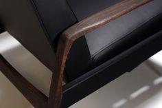 WHITE MOOD Design Factory - Retro Reclining Armchair #armchair #recliner #design