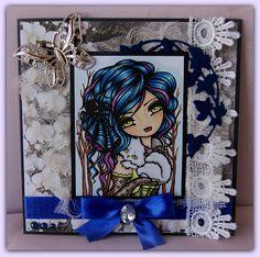 "Crafts and Me Stamps: hannah lynn ""Vixie"" Vampire Cat Digi Stamp HannahLynn.com"