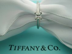 TIFFANY & CO PRINCESS DIAMOND 0.21 CT F IF INTERNALLY FLAWLESS ENG RING APP&CERT #TiffanyCo #Solitaire