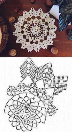 Crochet Square Patterns, Doily Patterns, Crochet Chart, Crochet Gifts, Crochet Doilies, Fillet Crochet, Dream Catcher, Crochet Earrings, Diy Crafts