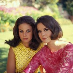 Natalie Wood (1938 - 1981) and Lana Wood (b.1946): Hollywood sisters. - Mike The FordGuy - Google+