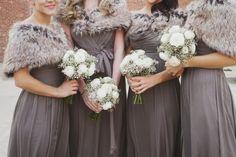 ~Winter Wedding Bridesmaids~