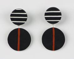 Rita Earring by Klara Borbas (Polymer Clay Earrings) | Artful Home