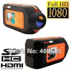 Free Shipping  Waterproof Action Sports Helmet Camera sport mini video recorder Full HD 1080P 5.0MP CMOS Remote wireless control on AliExpress.com. $120.00