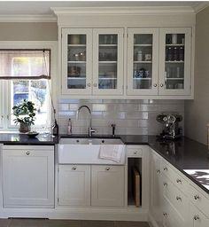 Kitchen inspo  Cred: @ingermarienordrum Thank you for using #interior_delux ✌️ #kitchen #kitchendesign #kitchendecor #kjøkken