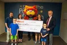 Catseye donates $10,000 to Make-A-Wish Northeast New York