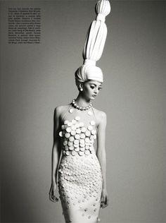 Codie Young for Vogue Italia December 2011