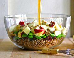 Cranberry Apple Wheat Berry Salad