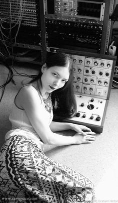 Cary Grace - A beautiful, prog/space-rock synthesizer player... What's not to like?