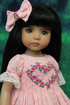 "Smocked Ensemble for Effner 13"" Little Darling Dolls by Petite Princess Designs"