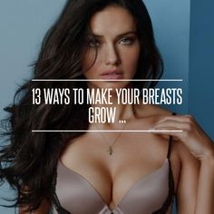 13. Flax Seed - 13 Ways to Make Your #Breasts Grow ... → #Beauty #Herbal