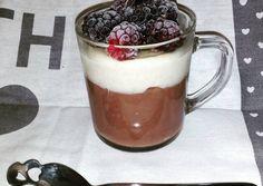 Kakaós és kókuszos zabpuding recept foto Healthy Cake, Healthy Recipes, Healthy Food, Creative Cakes, Granola, Cake Recipes, Paleo, Food And Drink, Pudding