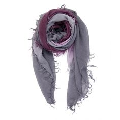 Chan Luu Winetasting and Plum Cashmere and Silk Scarf - Available at www.goneshopping.ca