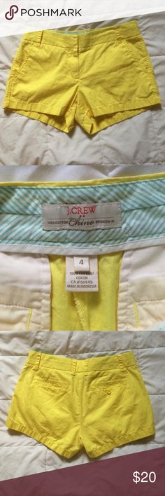 J Crew broken in chino size 4 Excellent used condition. J. Crew Shorts