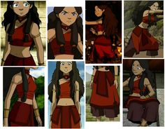 Katara (Fire Nation disguise) - ATLA KK wants this for Halloween. Making it myself though... With a little less skin though.