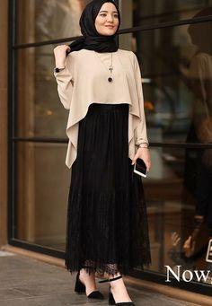 Combination Tricks Hijab Vintage For Women sãrãĦ Ḿỡhãmãd ( Hijab Style Dress, Modest Fashion Hijab, Modern Hijab Fashion, Muslim Women Fashion, Hijab Fashion Inspiration, Islamic Fashion, Abaya Fashion, Skirt Fashion, Fashion Outfits