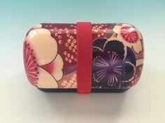 Lunch Box Bento Sakura Yuzen Container Food Storage Portable Japanese Hakoya 161 #HAKOYA