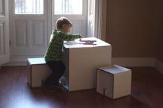 muebles-de-carton-niños-cardboard-furniture-kids-CUBEKIDS