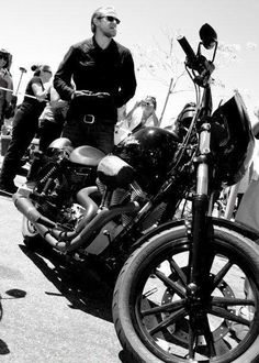 2 of my favorite things... men and motorcycles