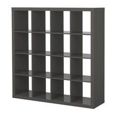 EXPEDIT Estantería IKEA Alto Brillo Gris