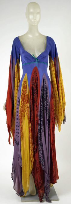Dress, Giorgio di Sant'Angelo, 1971, American, synthetic and cotton
